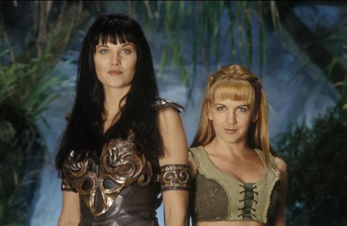 Кадр из сериала «Зена, королева воинов».